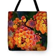Lantana Blooms Tote Bag