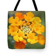 Lantana Flower Tote Bag