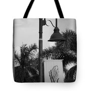 Lantana Lamp Post Tote Bag