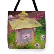 Lantern And Friends Tote Bag