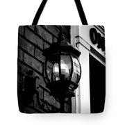 Lantern Black And White Tote Bag