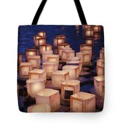 Lantern Floating Ceremony Tote Bag