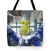 Lapin Vert / Green Bunny Tote Bag