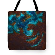Lapis Lazuli Nebula  Tote Bag