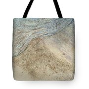 Lapping.  Gentle Wavelet Caressing The Shore. Tote Bag