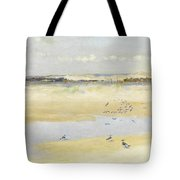 Lapwings By The Sea Tote Bag