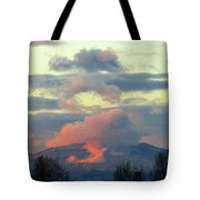 Wyoming Sunsets 1 Tote Bag