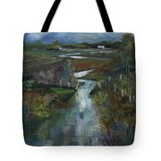 Laramie River Valley  Tote Bag