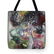 Large Color Fever Abstract25-original Abstract Painting Tote Bag