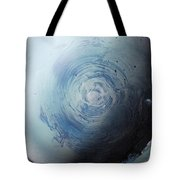 Large Earth Storm Tote Bag
