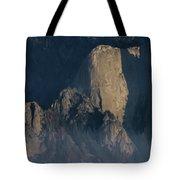 Large Granite Mountains In California Tote Bag