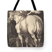 Large Horse Tote Bag
