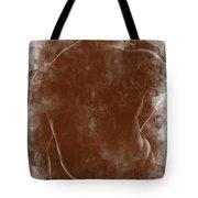 Large Man Backside Tote Bag