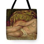 Large Nude Tote Bag by Pierre Auguste Renoir