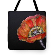 Large Poppy Tote Bag
