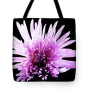 Large Purple Chrysanthemum-1 Tote Bag