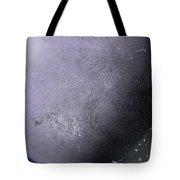 Large Purple Planet Tote Bag