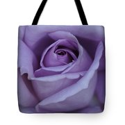 Large Purple Rose Center - 002 Tote Bag