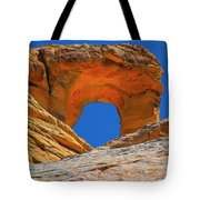 Large Sandstone Arch Valley Of Fire Tote Bag