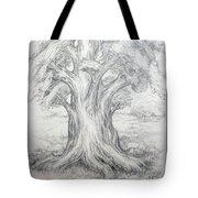 Large Shady Tree Tote Bag