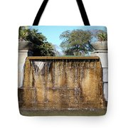 Large Water Fountain Tote Bag