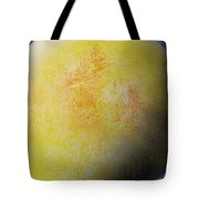 Large Yellow Planet Tote Bag