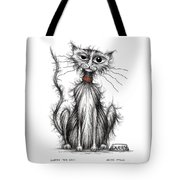 Larry The Cat Tote Bag