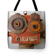 Larry The Robot Tote Bag