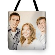 Lars Niels And Ilse Tote Bag