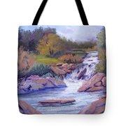 Larsen Falls Tote Bag