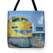 Las Vegas Dream Train Tote Bag
