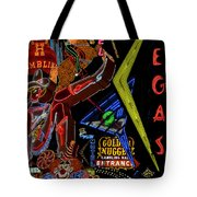 Las Vegas Neon Tote Bag