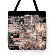 Las Vegas Never Sleeps Tote Bag