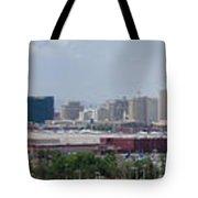 Las Vegas Panoramic View Tote Bag