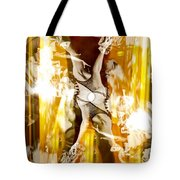 Seeing Beyond The Glass Aka Las Vegas Reflections Tote Bag