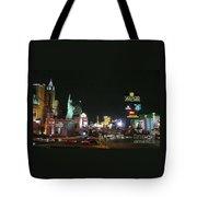 Las Vegas Strip At Night Tote Bag