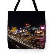 Las Vegas Strip At Night Tote Bag