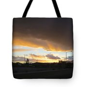Las  Vegas  Sunset  2 Tote Bag