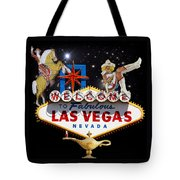Las Vegas Symbolic Sign Tote Bag
