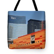 Las Vegas Under Construction Tote Bag