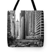 Lasalle Street Tote Bag