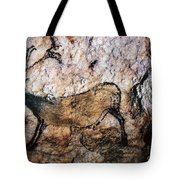 Lascaux: Running Deer Tote Bag
