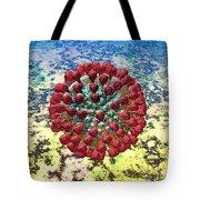 Lassa Virus Tote Bag by Russell Kightley