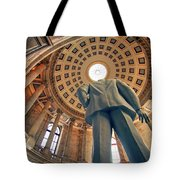 Last Bastion Tote Bag by Mitch Cat