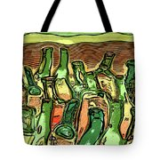 Last Call At The Cantina Tote Bag