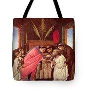 Last Communion Of St Jerome Tote Bag