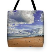 Last Day At The Beach Tote Bag