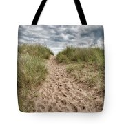 Last Effort Before Reaching The Beach... Tote Bag