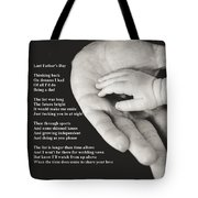 Last Father's Day Tote Bag