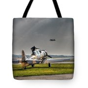Last Flight Tote Bag